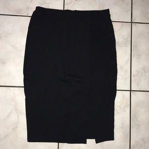 Dresses & Skirts - Pencil skirt w/ slit